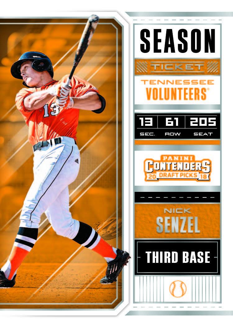 5172b0846 2018 Panini Contenders Draft Picks Collegiate Baseball Checklist - Sports  Card Radio